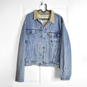 Vintage Levi's Blue Denim Jacket Sz Large